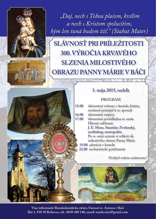 Slovenska put Bac 2015